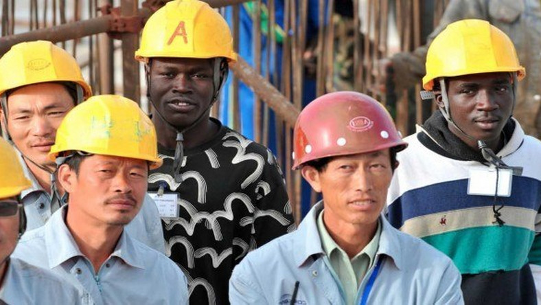 Chinese workers in Ghana