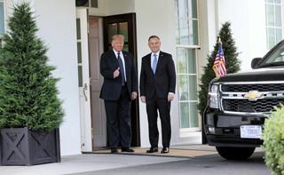 Spotkanie Duda-Trump. Jest oświadczenie w sprawie elektrowni jądrowej i technologii 5G