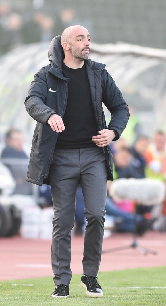 Žarko Lazetić je po drugi put bio glavni trener Partizana