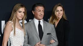 Córki Sylvestra Stallone'a wybrane Miss Złotych Globów