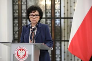 Marszałek Sejmu po spotkaniu z prezesem NIK: Nie mogłam interweniować