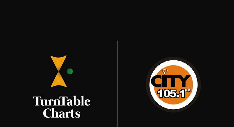 City 105.1 FM to syndicate Turntable top 50 as part of partnership. (TurnTableCharts)