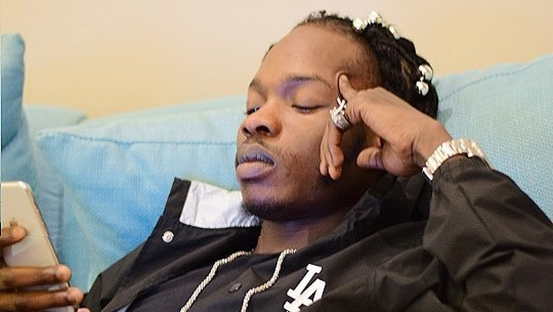 Naira Marley has branded himself an outlaw [Instagram/NairaMarley]