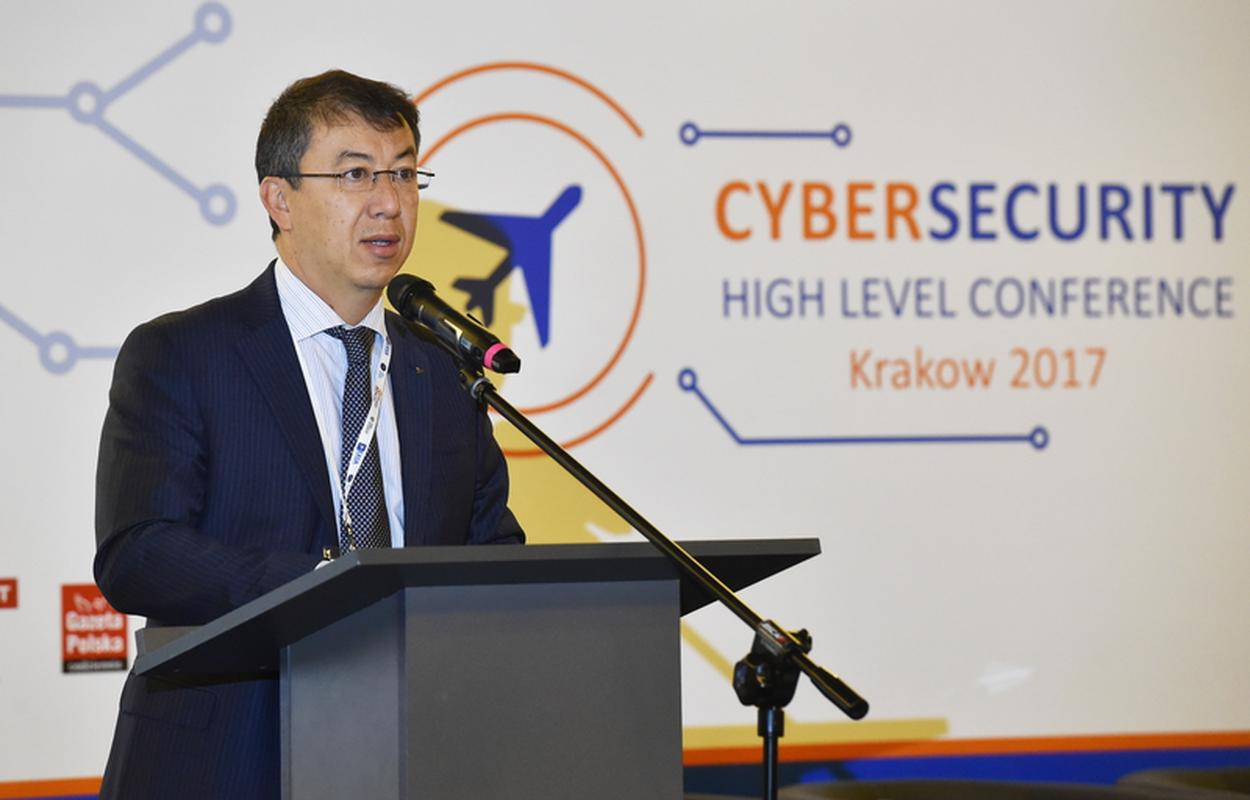 Patrick Ky, dyrektor wykonawczy Europejskiej Agencji Bezpieczeństwa Lotniczego EASA