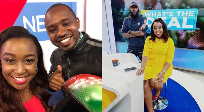 Boniface Mwangi comes to Betty Kyallo's defense after bitter rant on Instagram live