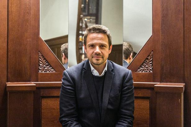 Rafał Trzaskowski. Fot. Maksymilian Rigamonti