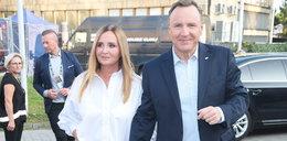 Joanna Kurska w Opolu u boku męża. Olśniła stylizacją. A te buty!