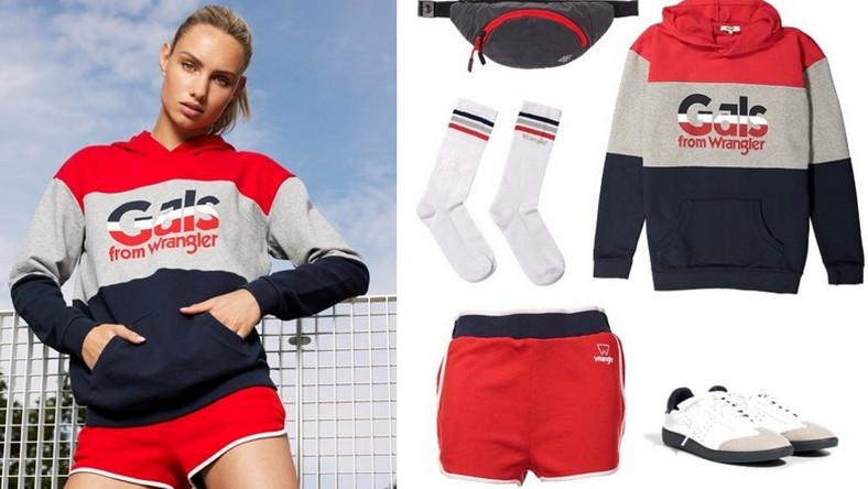 Przez ostatnie kilka sezonów bardzo mocnym trendem jest połączenie sportowych ubrań, kojarzonych z siłownią i intensywnymi treningami, z ubraniami w stylu glamour...