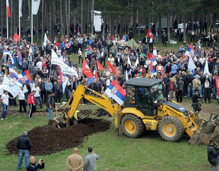 Zlatiborci nastavili gradnju gondole i najavili protest