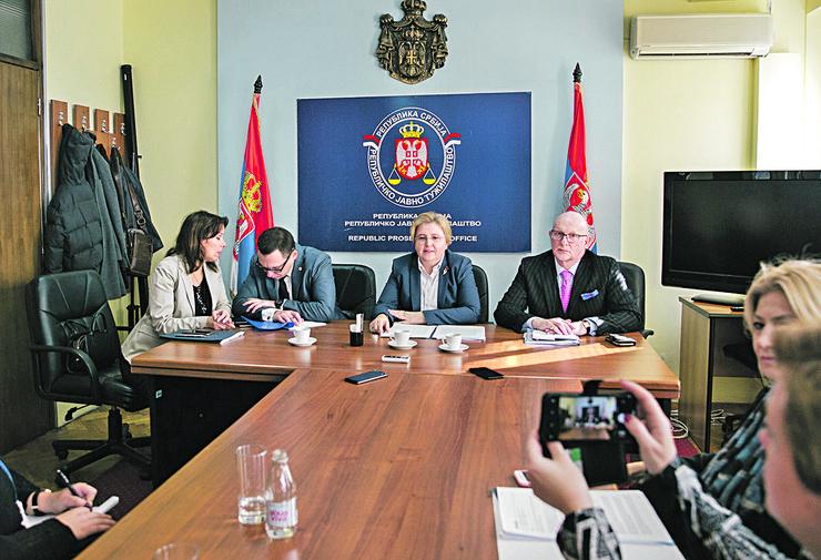zagorka Dolovec sa predstavnicima eurodžasta