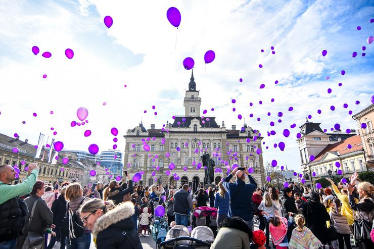 Novi Sad, Svetski dan prevremeno rodjene dece