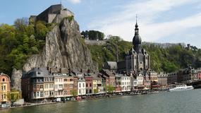 Dinant - jedno z najpiękniejszych miast Belgii przyklejone do skał nad Mozą