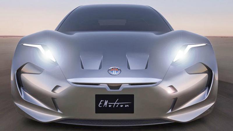 EMotion - Fisker powraca z nowym elektrycznym samochodem