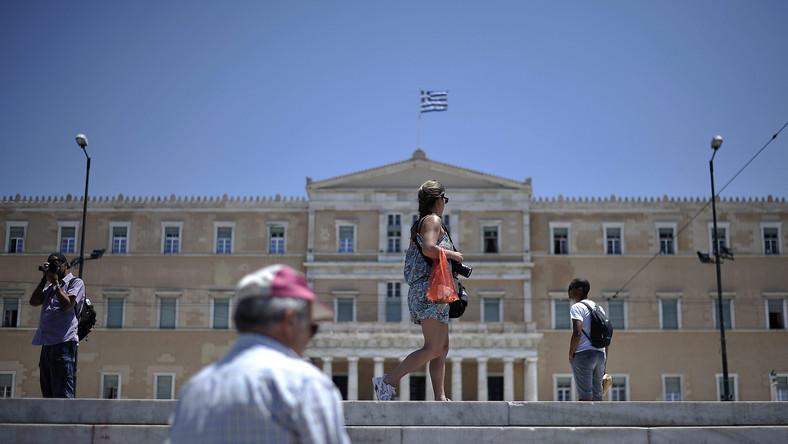 Siedziba greckiego parlamentu