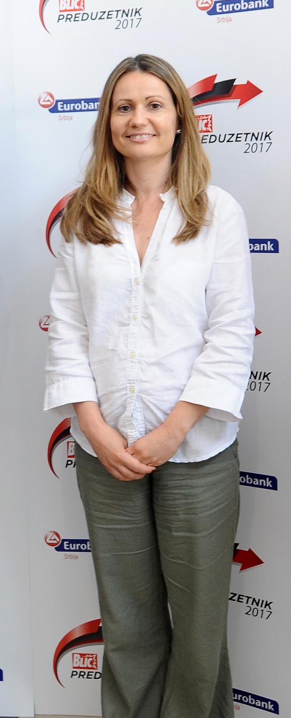Suzana Lakić, novinarka Blica