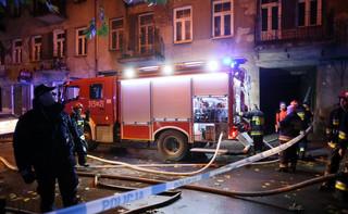 Spłonęła kamienica w Warszawie. Są ofiary