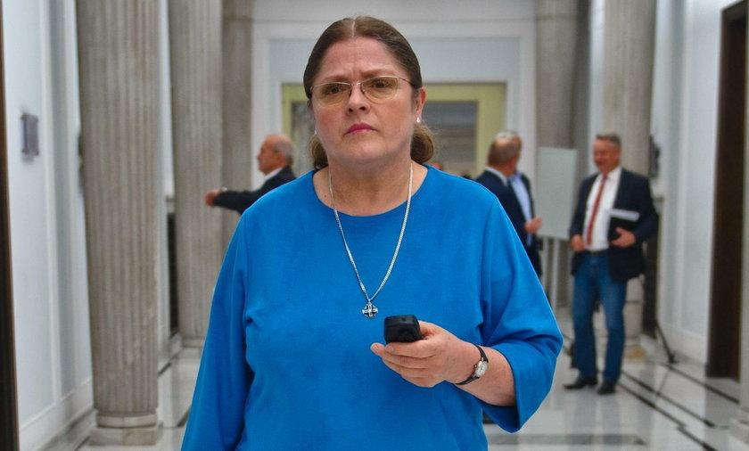 Krystyna Pawłowicz, była posłanka, teraz sędzia Trybunału Konstytucyjnego
