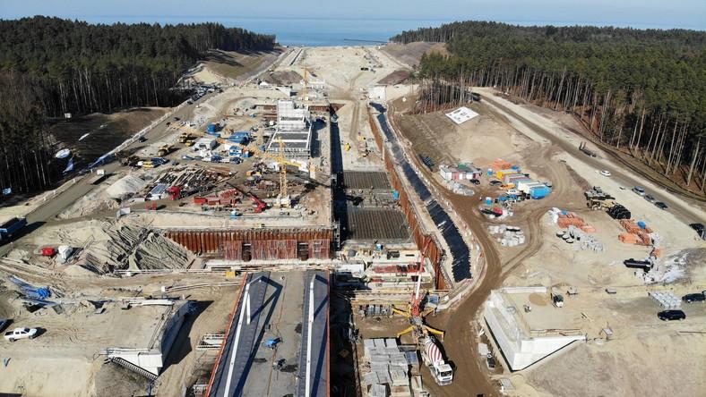Budowa drogi wodnej łączącej Zalew Wiślany z Zatoką Gdańską (przekop Mierzei Wiślanej)