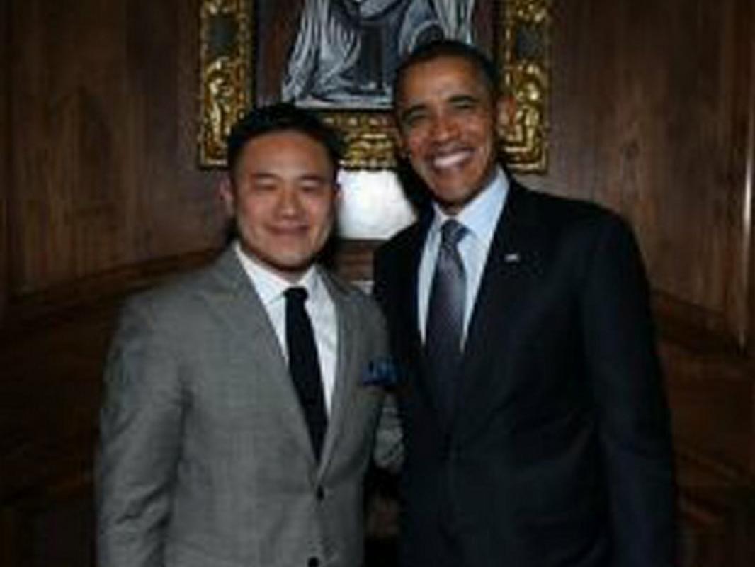 Jeremy Liew, partner funduszu Lightspeed i Barack Obama, były prezydent USA