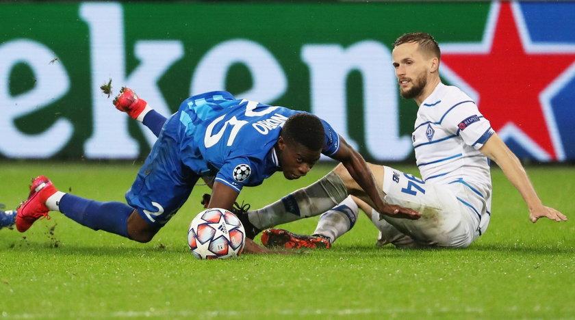 Jego Dynamo Kijów zmierzy się z Juventusem.