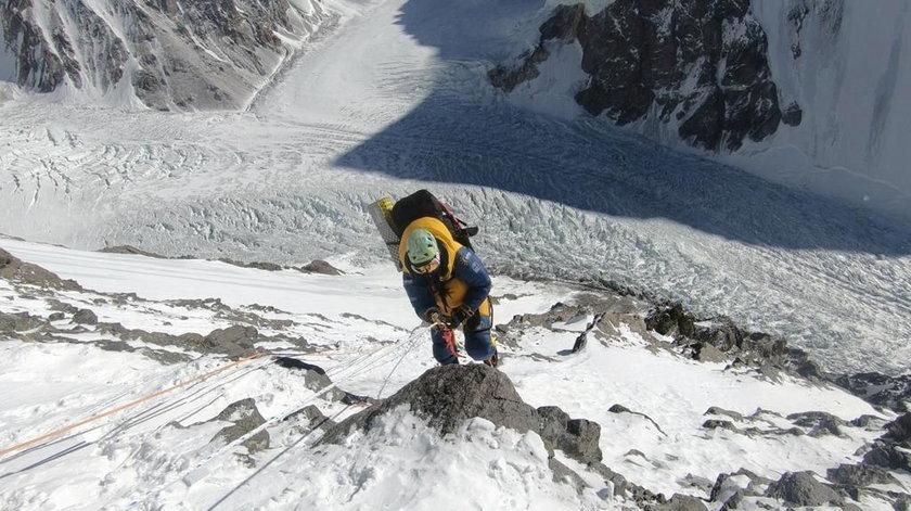 Gorzkowska w drodze na K2. Tym razem się nie udało, ale jeszcze kiedyś pewnie tam wróci