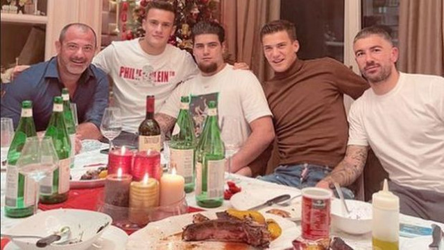 Dejan Stanković, Aleksandar Kolarov, Božić