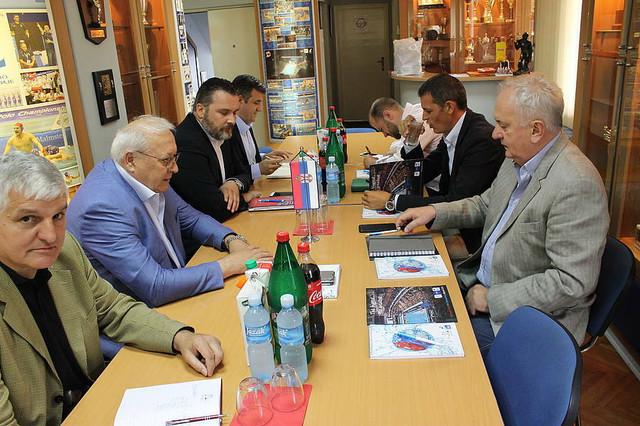 Čelnici OKS u poseti Vaterpolo savezu Srbije