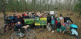Mieszkańcy Podlasia sprzeciwiają się wycince. Nie chcą lasu krzyży zamiast lasu