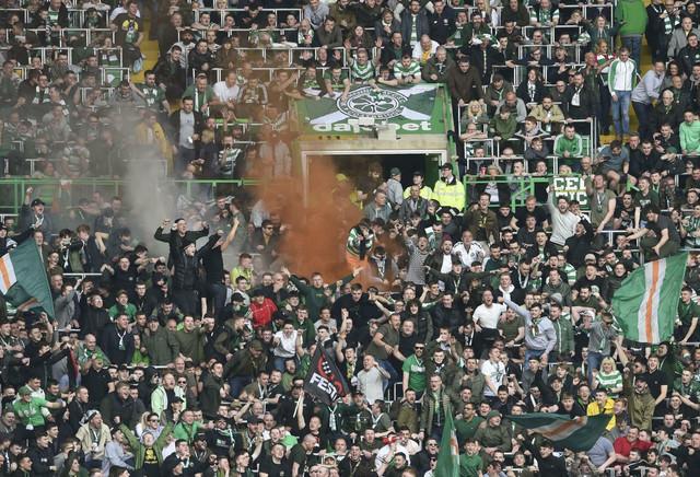 Slavlje navijača Seltika