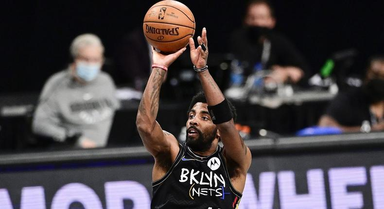 Kyrie Irving of the Brooklyn Nets [Photo by Steven Ryan/Getty Images]