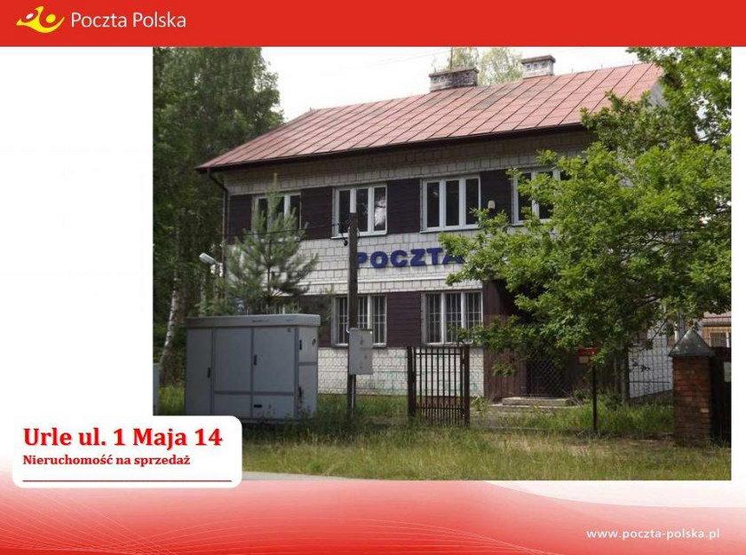 Budynek Poczty Polskiej z Urlach