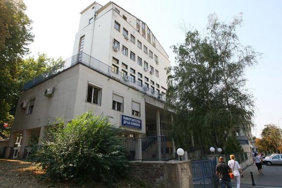 Bolji uslovi za lečenje:Univerzitetska dečja klinika u Tiršovoj