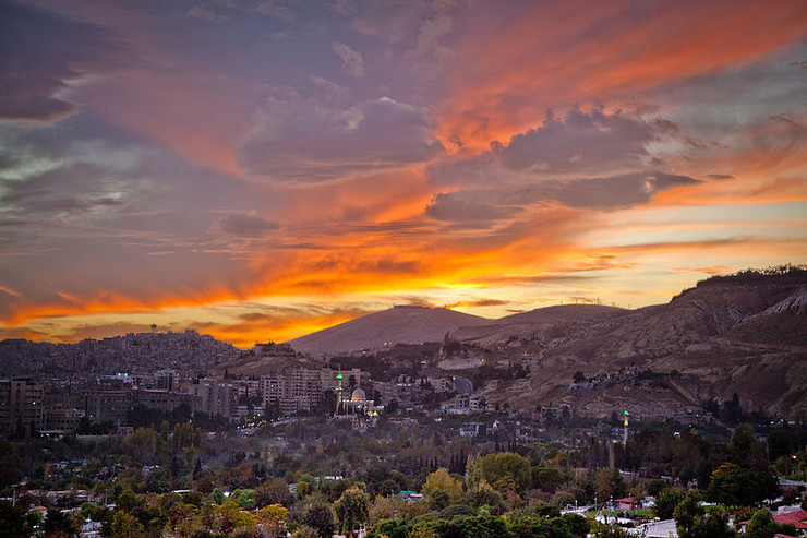 Damask, Sirija Wikipedia