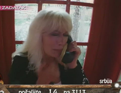 Suzana Perović dobila poziv sa sinom: Lila je suze kada je čula šta joj je rekao! VIDEO