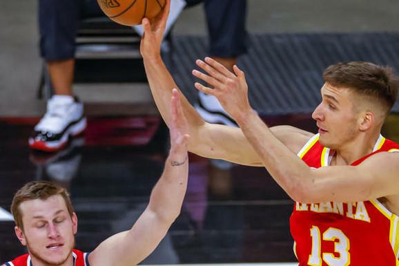 """Bogdan nastavio da """"sipa"""" i NE NAMERAVA DA STANE! Srbin odigrao još jednu sjajnu partiju i po prvi put u NBA karijeri igraće plej-of! /VIDEO/"""