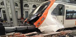 Pociąg nie wyhamował na dworcu. Kilkudziesięciu rannych