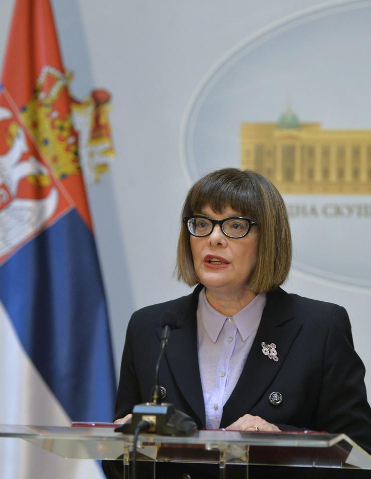Maja Gojković raspisivanje izbora