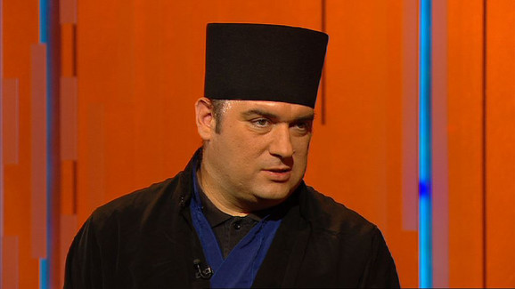 Bojan Jovanović, otac Serafim, u emisiji