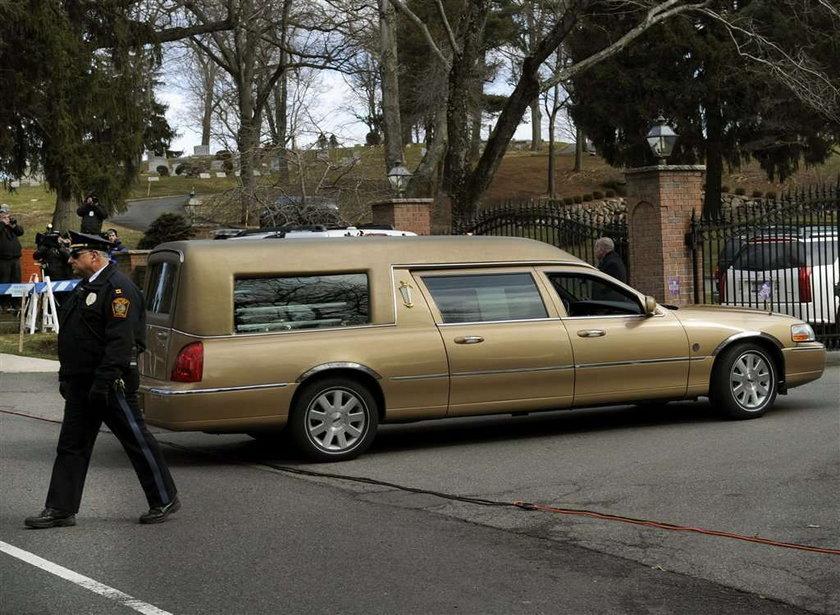 pogrzeb Whitney Houstion, trumna, kondukt