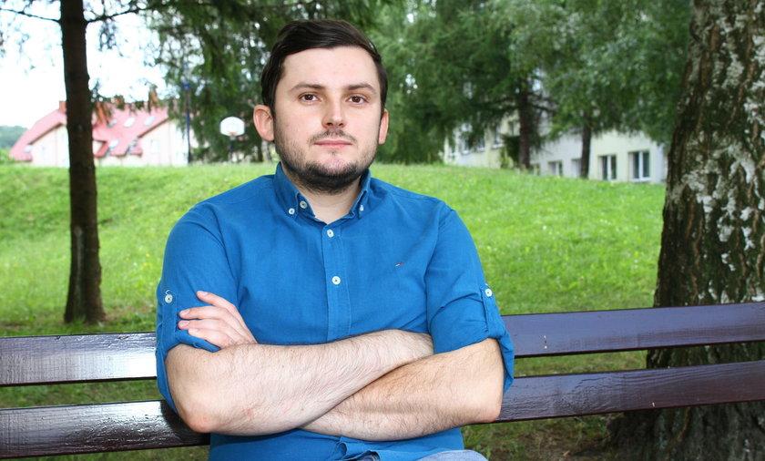 Michał Jucha został bez powodu skatowany przed dworcem w Jarosławiu