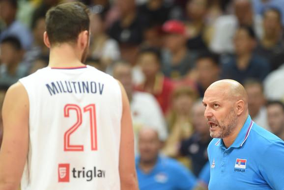 Milutinov i selektor Đorđević