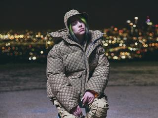 "Billie Eilish podczas premiery filmu ""Billie Eilish: The World's a Little Blurry"", Los Angeles, 25 lutego 2021 r."