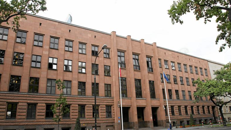 Budynek MSZ w Warszawie