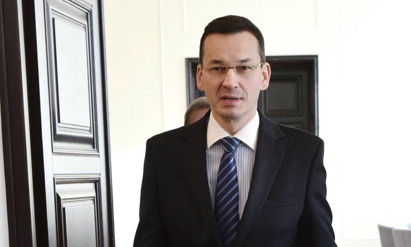 Morawiecki: Nie wezmę 500 zł na dziecko