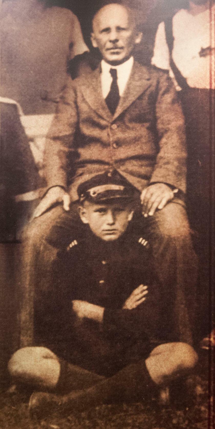Jan Paweł II z ojcem