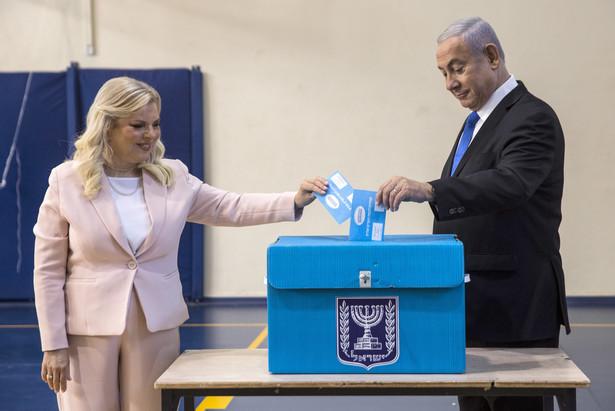 Benjamina Netanjahu z żoną
