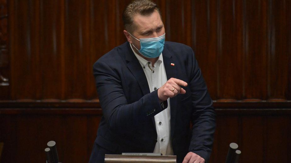 Wotum nieufności dla ministra Czarnka. Sejm odrzucił wniosek opozycji