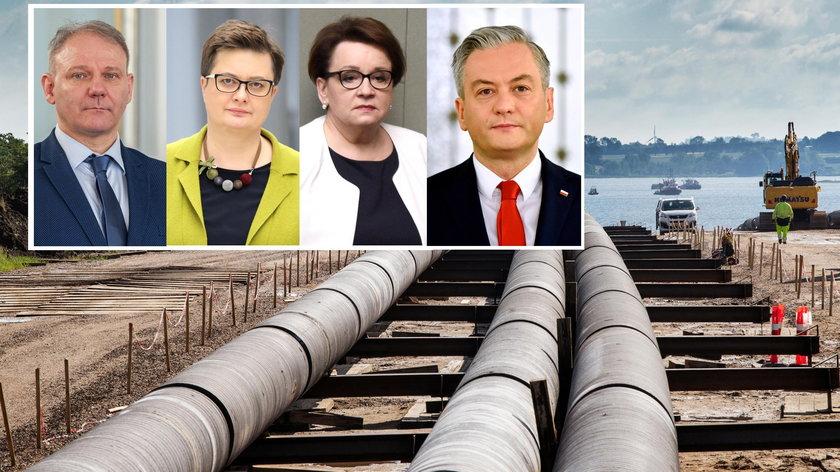 Politycy komentują decyzję w sprawie Baltic Pipe