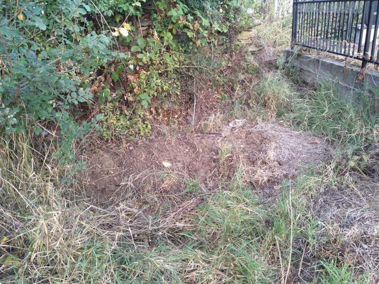 Grob u dvorištvu, Bublica