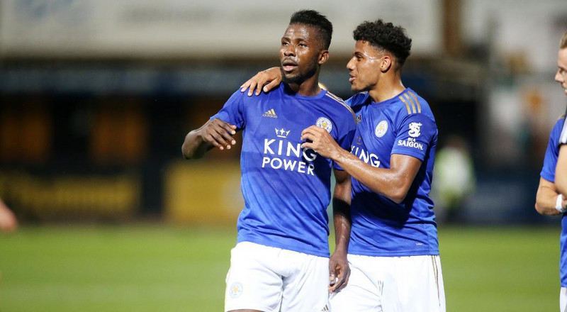 Kelechi Iheanacho scores his first goal in 10 months as Leicester City get another pre-season win